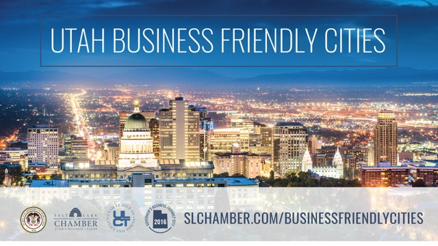 SEPTEMBER 2016: CHAMBER HONORED CITIES WITH BUSINESS FRIENDLY COMMUNITY AWARD