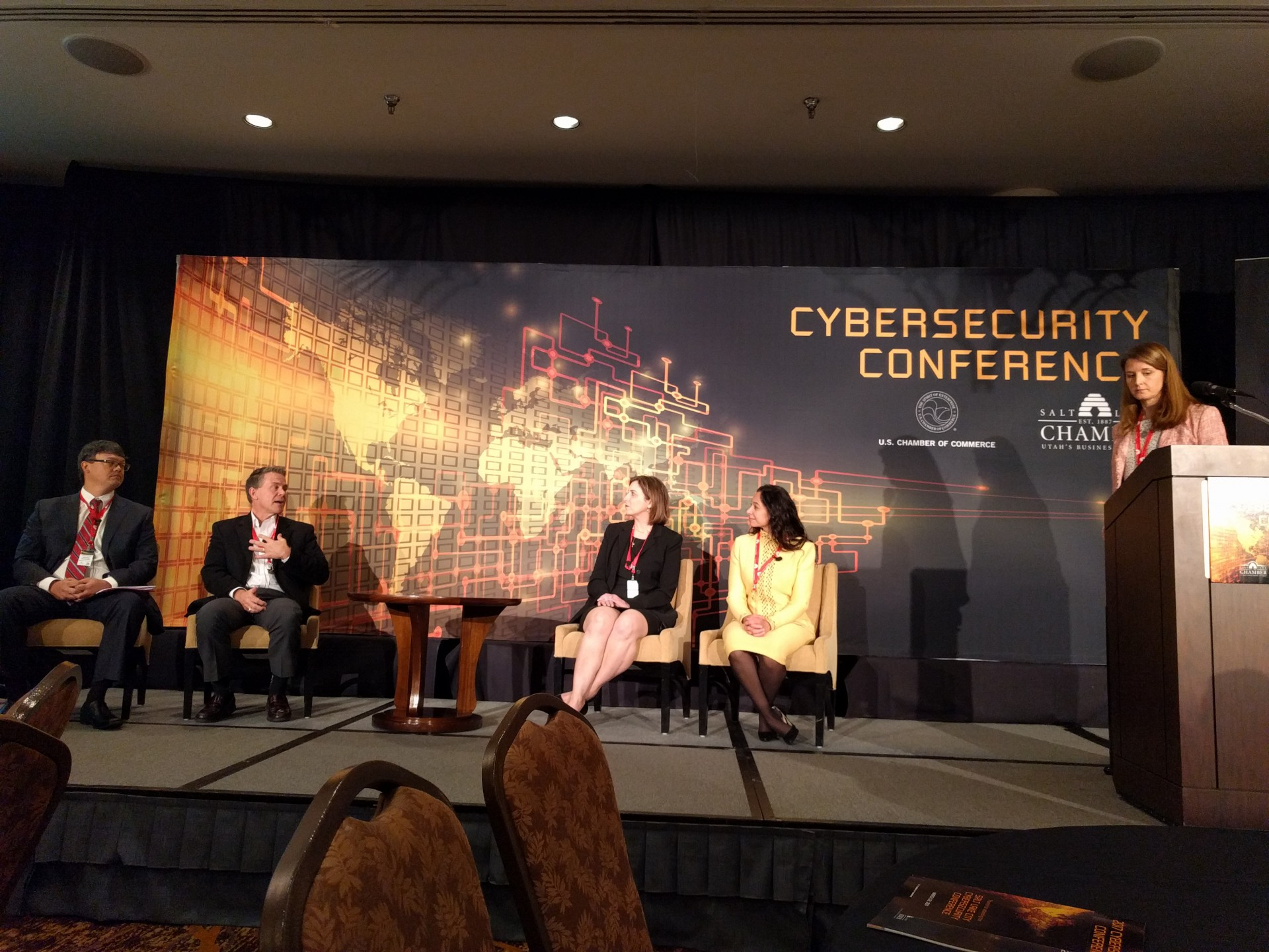 MARCH 2017: CYBERSECURITY CONFERENCE WITH U.S. CHAMBER OF COMMERCE