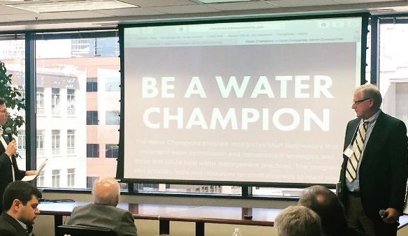 MAY 2017: LAUNCHED WATER PROGRAMS AT UTAH | WATER IS YOUR BUSINESS FORUM