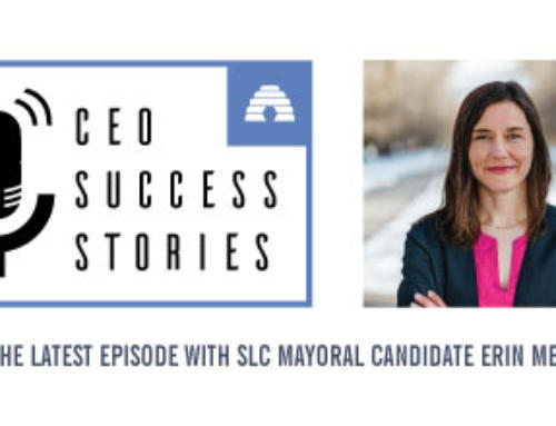CEO Success Stories: SLC Mayoral Candidate Erin Mendenhall
