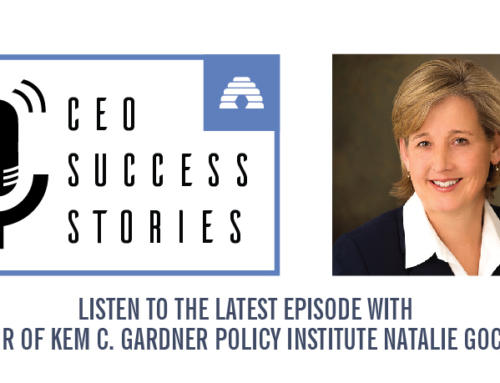 CEO Success Stories: Natalie Gochnour, Kem C. Gardner Policy Institute