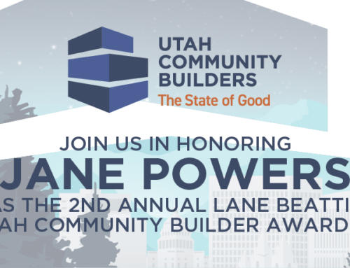 Jane Powers to be honored with Lane Beattie Utah Community Builder Award